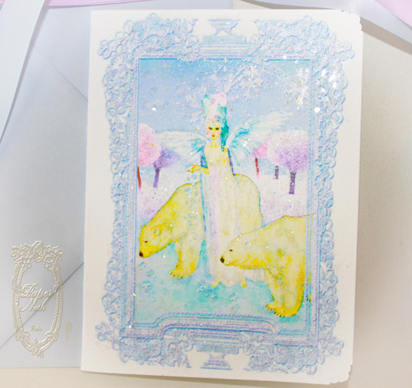 Marie Antoinette The Star Gatherer Angel Christmas Cards