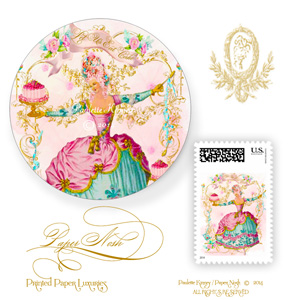 MARIE ANTOINETTE INVITATIONS SEALS AND POSTAGE MUSSETTES-FABULOUS-BIRTHDAY-SEALS-AND-POSTAGE 300.jpg