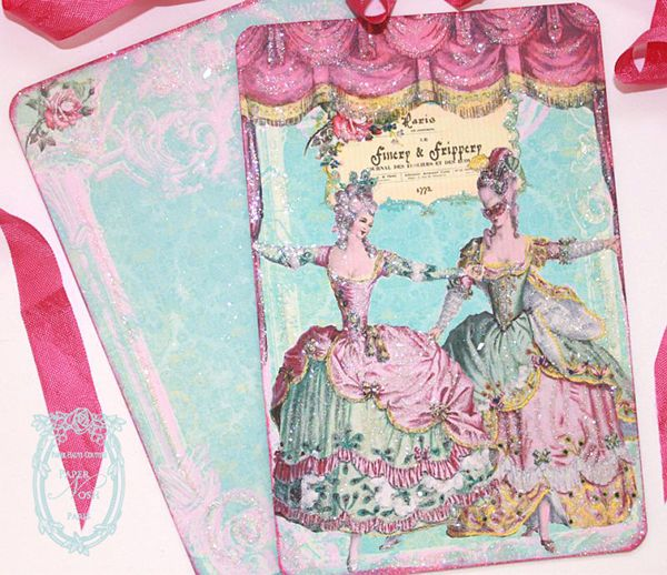 Finery and Frippery Marie Antoinette 18th Century Francaise de Costume Invitations