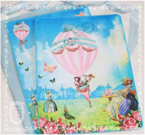 Tea On The Lawn with Marie Antoinette Invitations or Stationery Cards