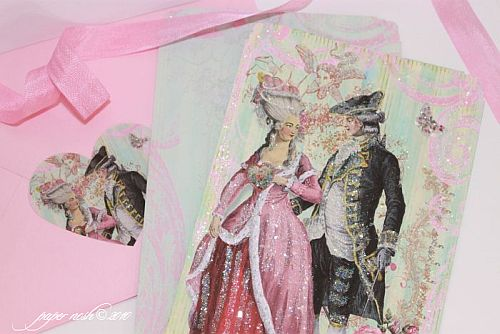Parisian Versailles Valentine Sweethearts de Paris Card Set